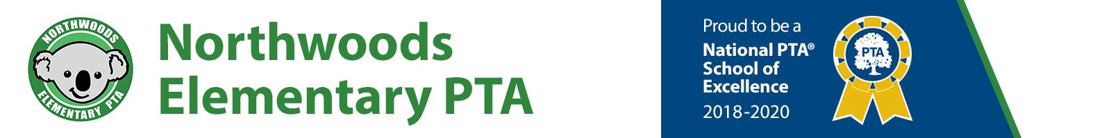 Northwoods Elementary PTA Logo